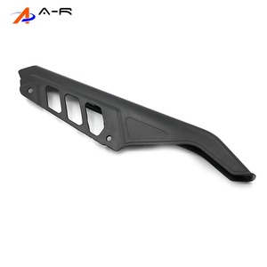 Image 1 - Guardabarros de cadena de ABS para motocicleta, cubierta protectora lateral, Protector para Suzuki DR125, DR200, DR650, DR 125, 200, 650, 04 17