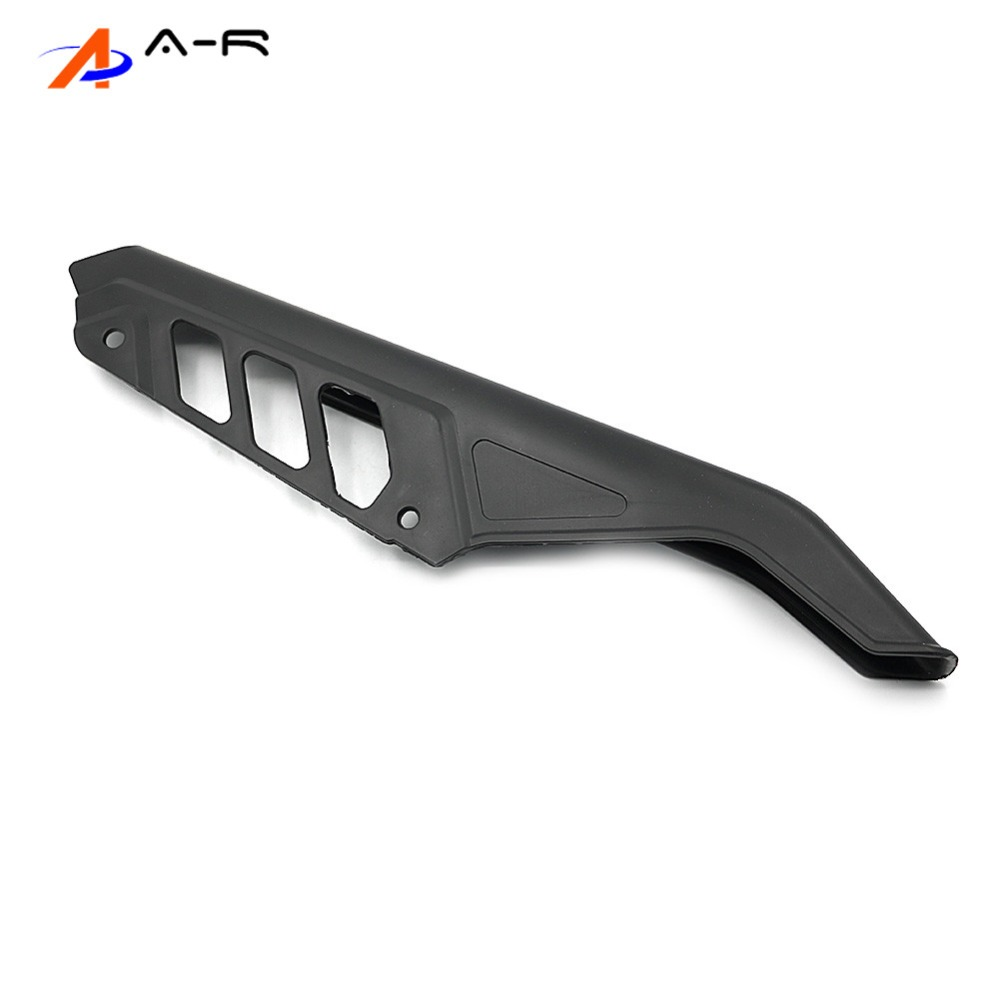 Motorcycle ABS Chain Sprockets Mudguard Side Guard Cover Protection Protector For Suzuki DR125 DR200 DR650 <font><b>DR</b></font> 125 <font><b>200</b></font> 650 04-17 image