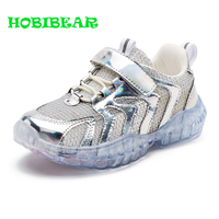 Hot Sale Casual Boys Kids Shoes Breathable Children Flats Sneakers Silver PInk Summer Shoes For Girls Childrens Running Shoes