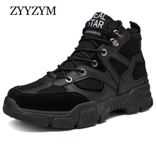 ZYYZYM Shoes Men Casual Shoes 2019 Spring Autumn High Style