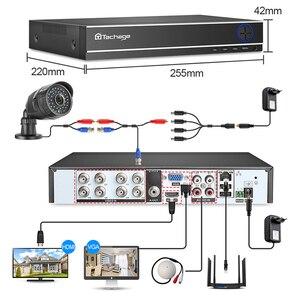 Image 2 - Techage 8CH 1080P Cctv Systeem Ahd Dvr Kit 2MP Ir Outdoor Waterdichte Camera Home Security P2P Video Surveillance Set 2 Tb Hdd
