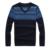2017 Novo Outono & Inverno Qualidade Superior Xadrez O-pescoço Pulôver Dos Homens Slim Fit Camisola Dos Homens Puxar Homme Sudaderas Mens Camisolas 4 Cores