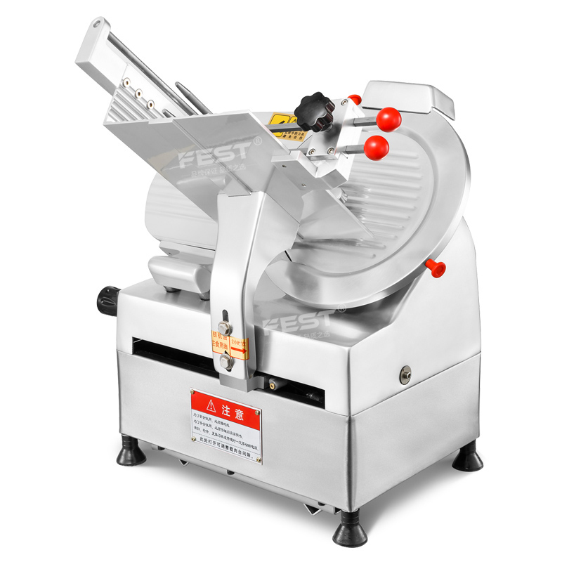 Meat Slicer Commercial Automatic Mutton Roll Slicer Frozen Meat Fat Cattle Electric Meat Slicer Planing Meat Machine