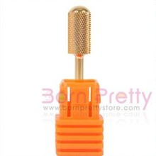 Pro Electric Gold Carbide Nail Drill File Broach Bit Replacement New # F 3/32″