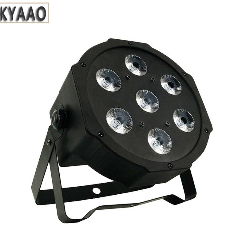 LED Par Light 4in1 RGBW Party Decoration Dmx512 Professional Stage Lighting Dj Disco Par Light