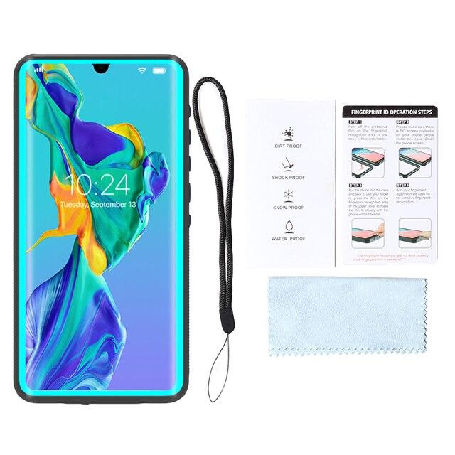 Coque de téléphone étanche pour Huawei Mate 20 P30 P20 Pro émerger couverture sous-marine étui étanche à la neige Coque pour Huawei Mate 20 Pro