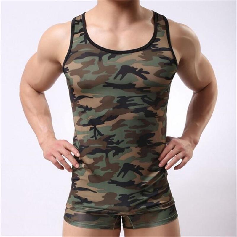 e2cc70d164c85 Men s Camouflage Army Tank Top