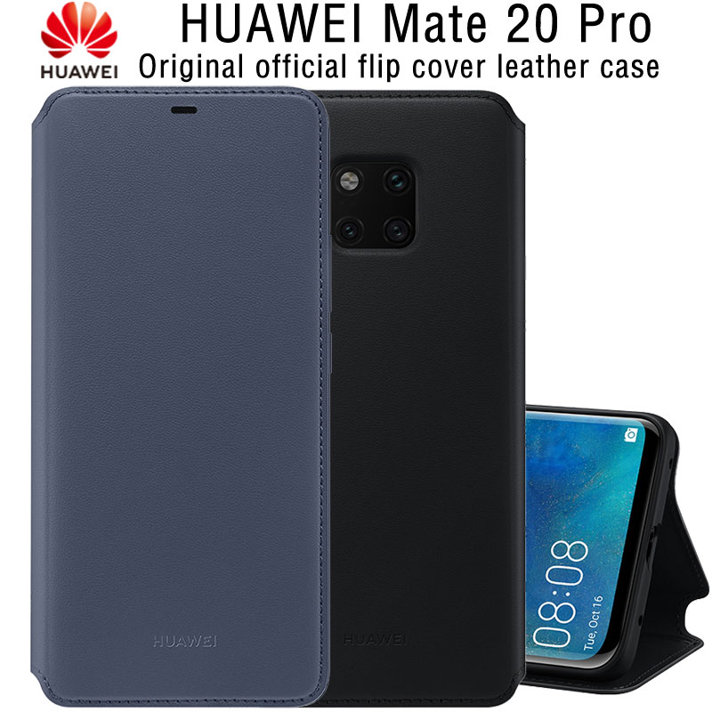 new styles a51f0 f222f US $39.69 19% OFF|HUAWEI Mate 20 Pro Case Original Official Wallet Card  Full Protection Kickstand Stand Cover HUAWEI Mate 20 Pro Flip Case Cover-in  ...