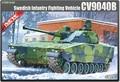 Academy model 13217 1/35 scale CV9040B Infantry Fighting Vehicle plastic model kit