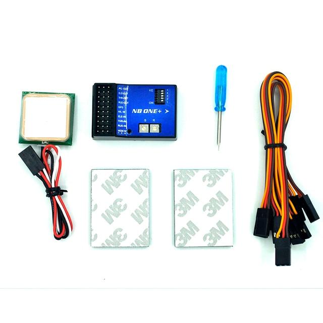 Versión avanzada NB + 32 poco controlador de vuelo incorporado 6-Axis Gyro con GPS para FPV RC fijo ala