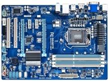 Оригинальная Материнская плата Gigabyte GA-Z77-HD3 DDR3 LGA 1155 Z77-HD3 USB2.0 USB3.0 32Гб SATA III Z77 рабочего Материнская плата Бесплатная доставка