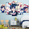 5 Piece Wall Canvas Pictures Anime Poster Prints Wall Art Oil Painting Home Decor Art Canvas