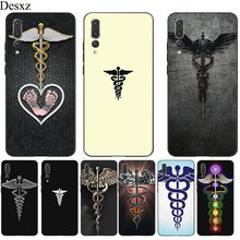 Desxz Silicone Mobile Phone Case For Honor Note 10 6A 7A 7X 8 8X 8C 9 Lite Cover Medical Symbol Protective Bag(China)