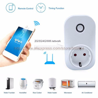 EU US WIFI Smart Power Plug Socket Remote WIFI Plug Timer Switch with Charging Protection & DHL/UPS/FEDEX/EMS Free Shipping