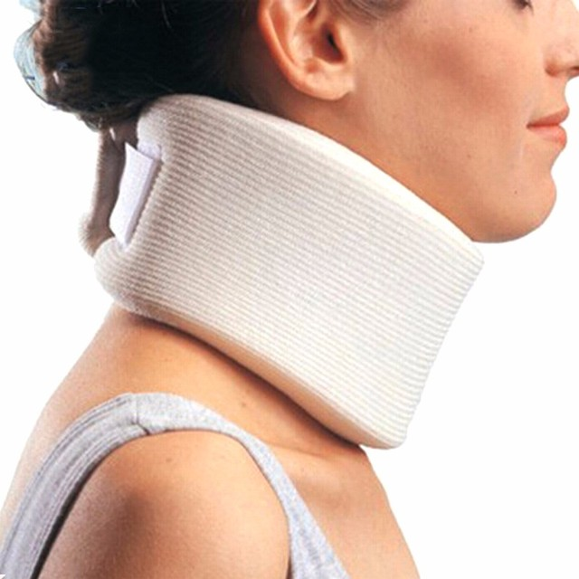 YihCare Medical Care Soft Firm Foam Cervical Collar Traction Neck Brace Support Massager Shoulder Relaxation Pain Relief Belt