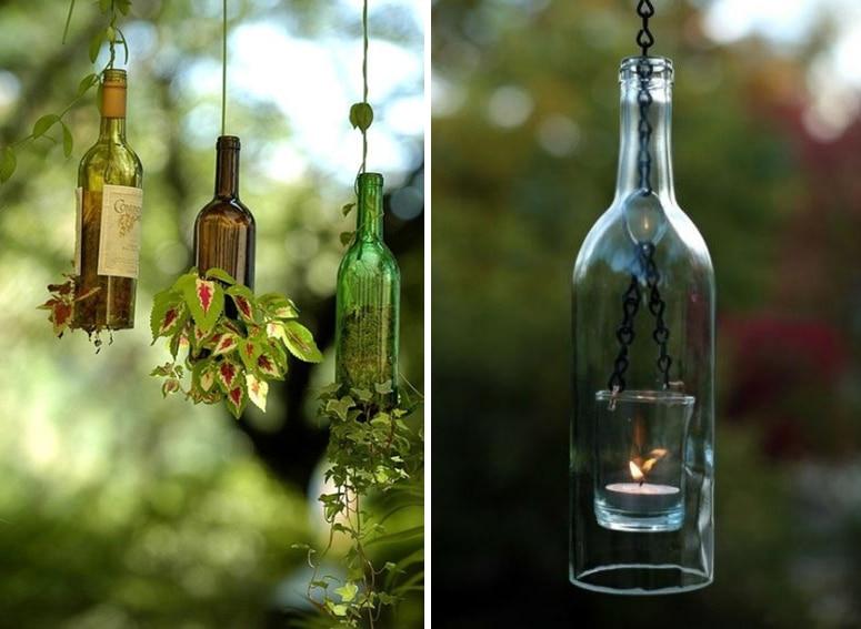 Diy Glass Bottle Art Www Pixshark Com Images Galleries