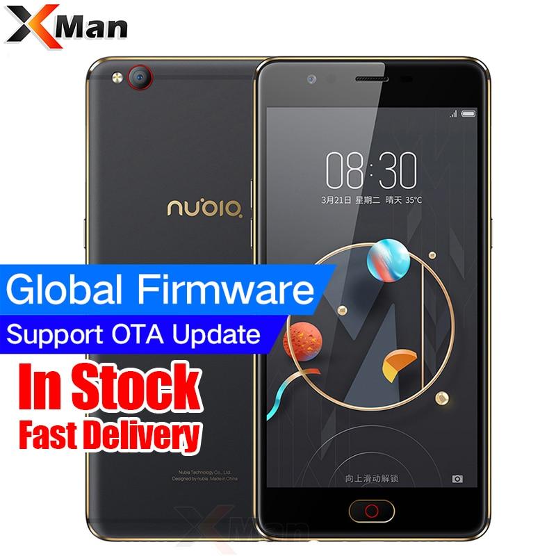 Original ZTE Nubia M2 LITE 4G LTE MT6750 Octa Core Android M 5.5 3G RAM 64GB ROM 16.0MP 3000mAh Battery Fingerprint Smartphone