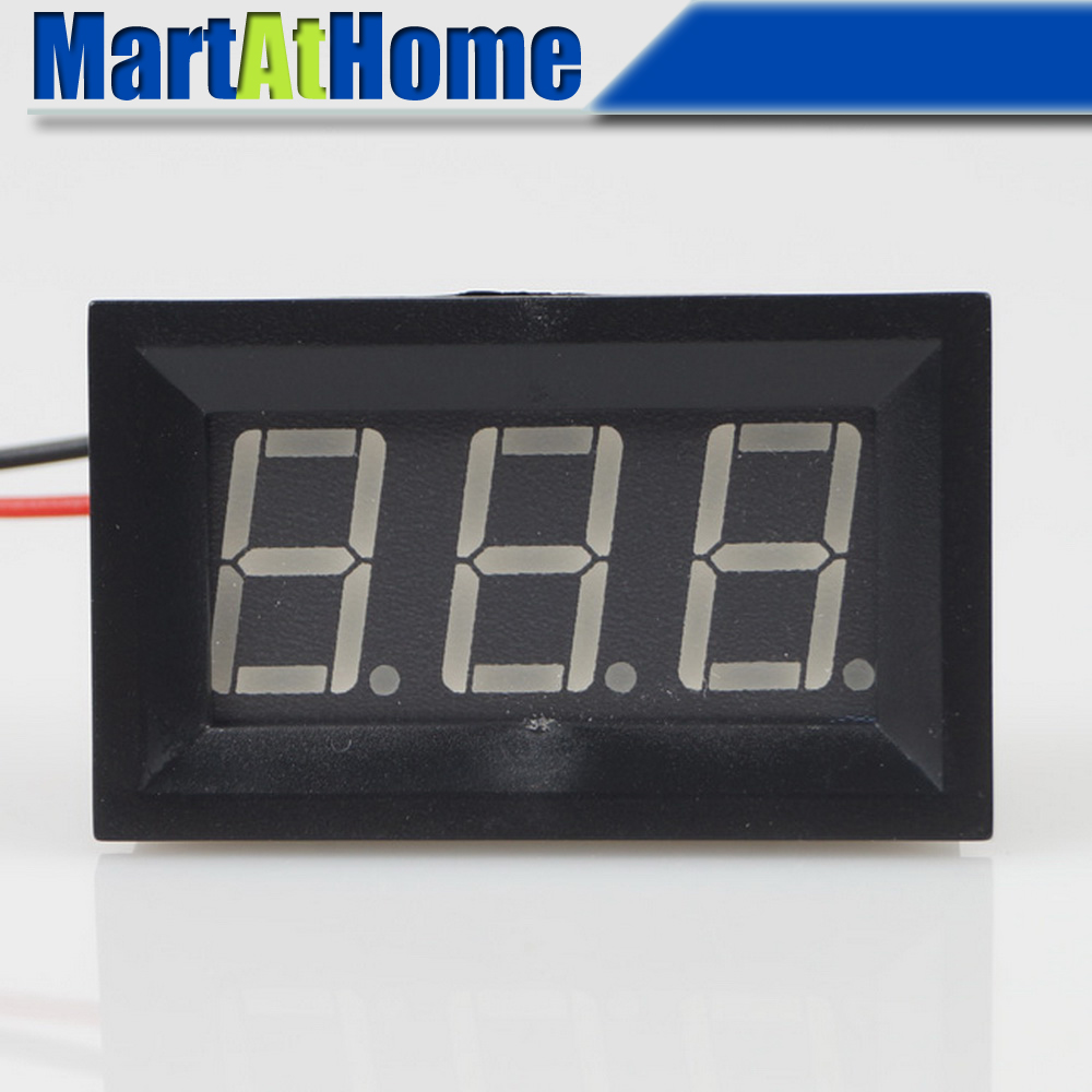 30v Volt Meter With Pic16f676