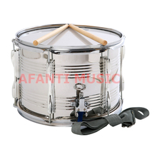 13 inch stainless steel Afanti Music High Snare Drum (AGS-010)