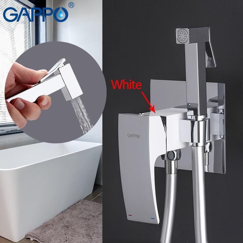 все цены на GAPPO Bidets taps bathroom toilet bidet muslim shower set tap Faucets bathroom hygienic shower mixer wall mounted bidet mixer онлайн