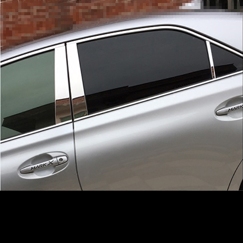 4PCS Door Window Vent Visor Sun Rain Guard o For Toyota Reiz //MARK X 2010-2013