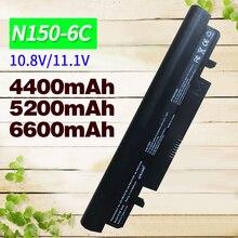 5200mAH laptop Battery For Samsung N100 N143 N145P N148 N150 N250 N260 AA-PB2VC3B  AA-PB2VC3W AA-PB2VC6B AA-PL2VC6B AA-PL2VC6W