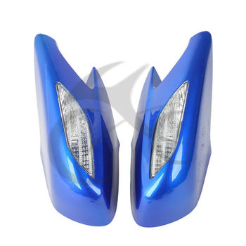 New Rear View Mirrors Clear Turn Signals Lens For Honda ST1300 2002-2011 2