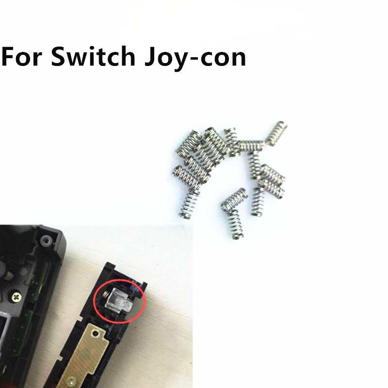 Springs for Nintend Switch NS Joy-con Joycon Repair Spring For Nintendo Switch Controller Metal Lock Buckles Replacement Part