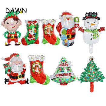 Merry Christmas Balloons Santa Clause Snowman New Year Christmas Balloons Party Decoration Home Xmas Party Decor 2019 image