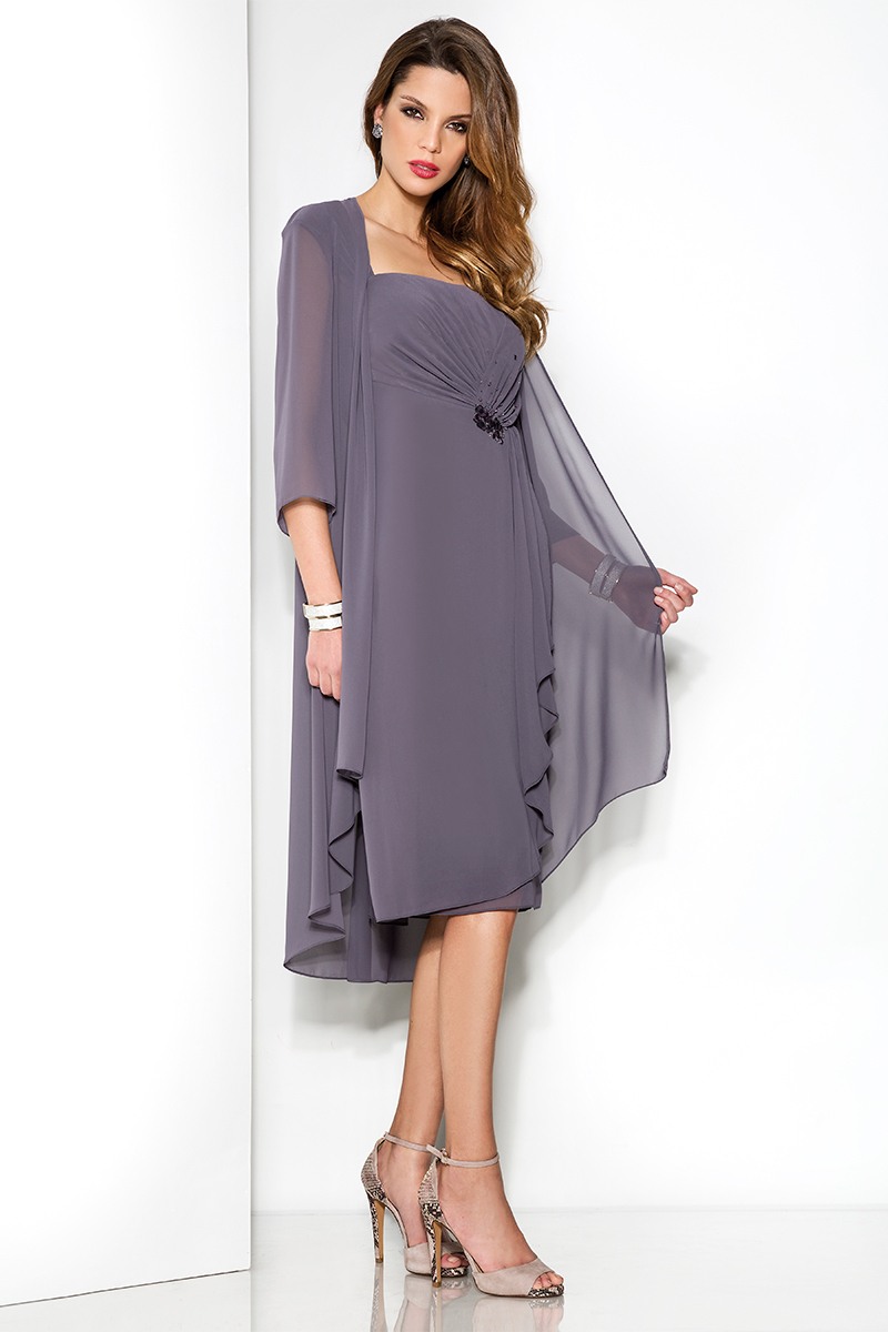 Mother Of The Bride Calf Length Dresses Uk – DACC