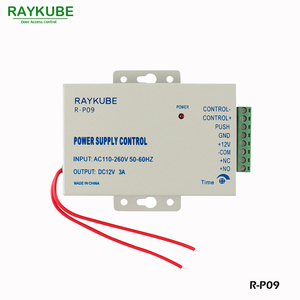 Image 4 - نظام التحكم في الوصول إلى الباب RAYKUBE مع جهاز قراءة البصمة الحيوية مزود بكاميرا وبطارية احتياطية قفل إلكتروني قفل أمان للأبواب