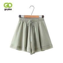 Женские шифоновые расклешенные шорты goplus с высокой талией