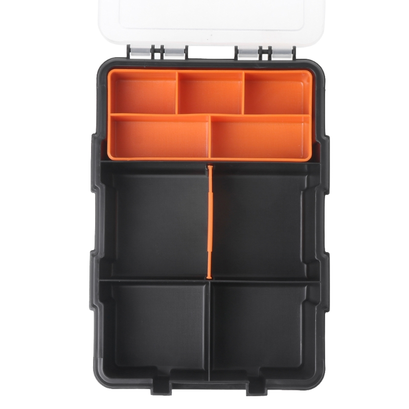 Hardware Box Transparent Multifunctional Storage Tool Case Plastic Organizer 649E