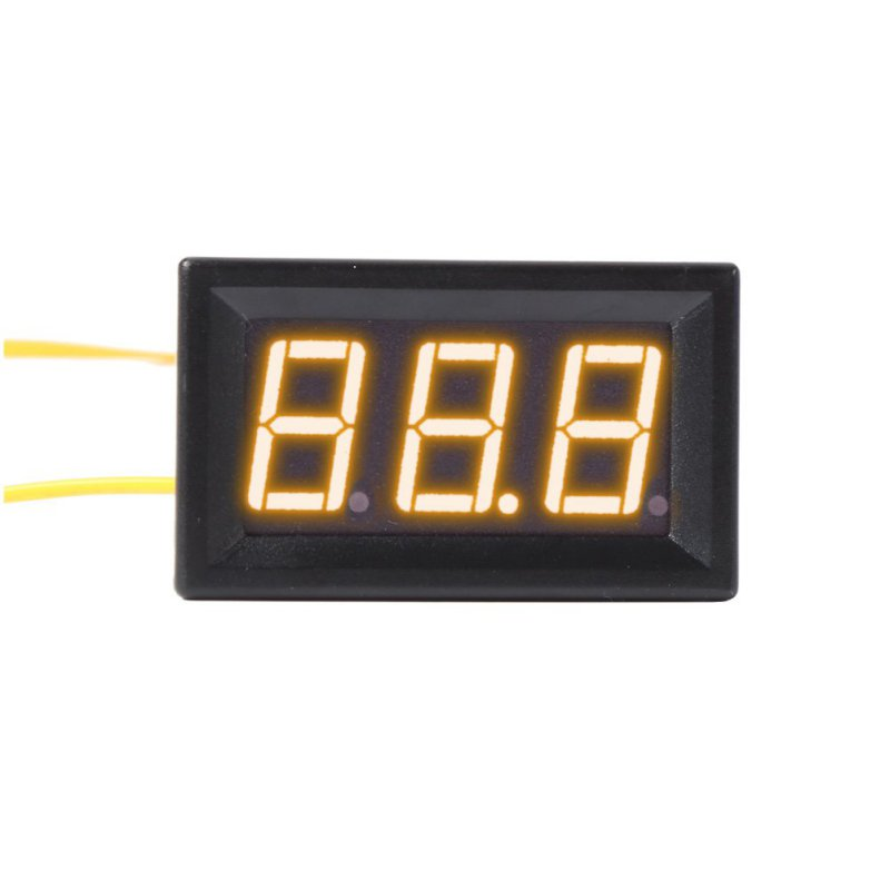 RGB AC 70-500V 0.56 Mini Voltage Meters LED Display Digital Panel Volt Meter Measuring Tools