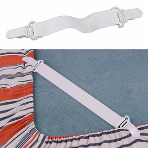 4pcs super practical nylon buckle elastic band for bed sheets bedspread non slip sheet fixer holder bedding article accessory