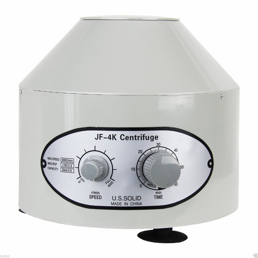 купить Electric Lab Centrifuge Laboratory Medical Practice Supplies 4000 rpm 20 ml x 6 1790 g по цене 3603.19 рублей