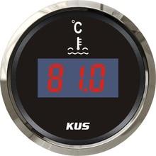 Meter Water-Temp-Temperature-Gauge Car-Gauge Digital 52MM KUS with Backlight 12v/24v