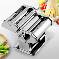 Free Shipping Stainless Professional Steel Noodle Maker Pasta Making Machine For Dough Roller Rorks Noodles Press