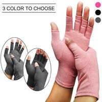 1 paire de soins de santé douleurs articulaires léger thérapie Durable gants de Compression demi-doigt main arthrite unisexe soutien-poignet