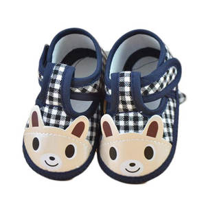 Sneaker Baby Shoes Infantil Cheap First-Walker Wholesale Cute Menina Sapatos Plaid
