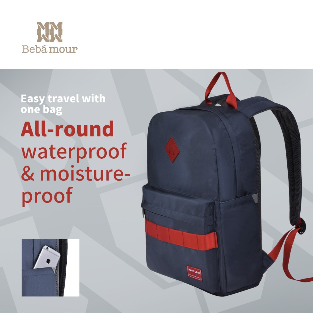 New Fashion Diaper Bag Light Backpack Nappy Bag Sporty Outdoor Package Multifunctional Waterproof Leisure Package