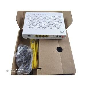 Image 3 - גרסה חדשה 6.0 ZTE GPON נתב ZXA10 F660 ONU/ONT עם 1GE + 3FE + 1 קול + WIFI + 1USB, רשת אופטית מסוף אנגלית גרסה