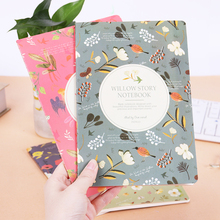 1PC Cute Kawaii Cartoon Animal Notebook Lovely Flower A5 Notepad for Kids Student Gift Korean Stationery недорого