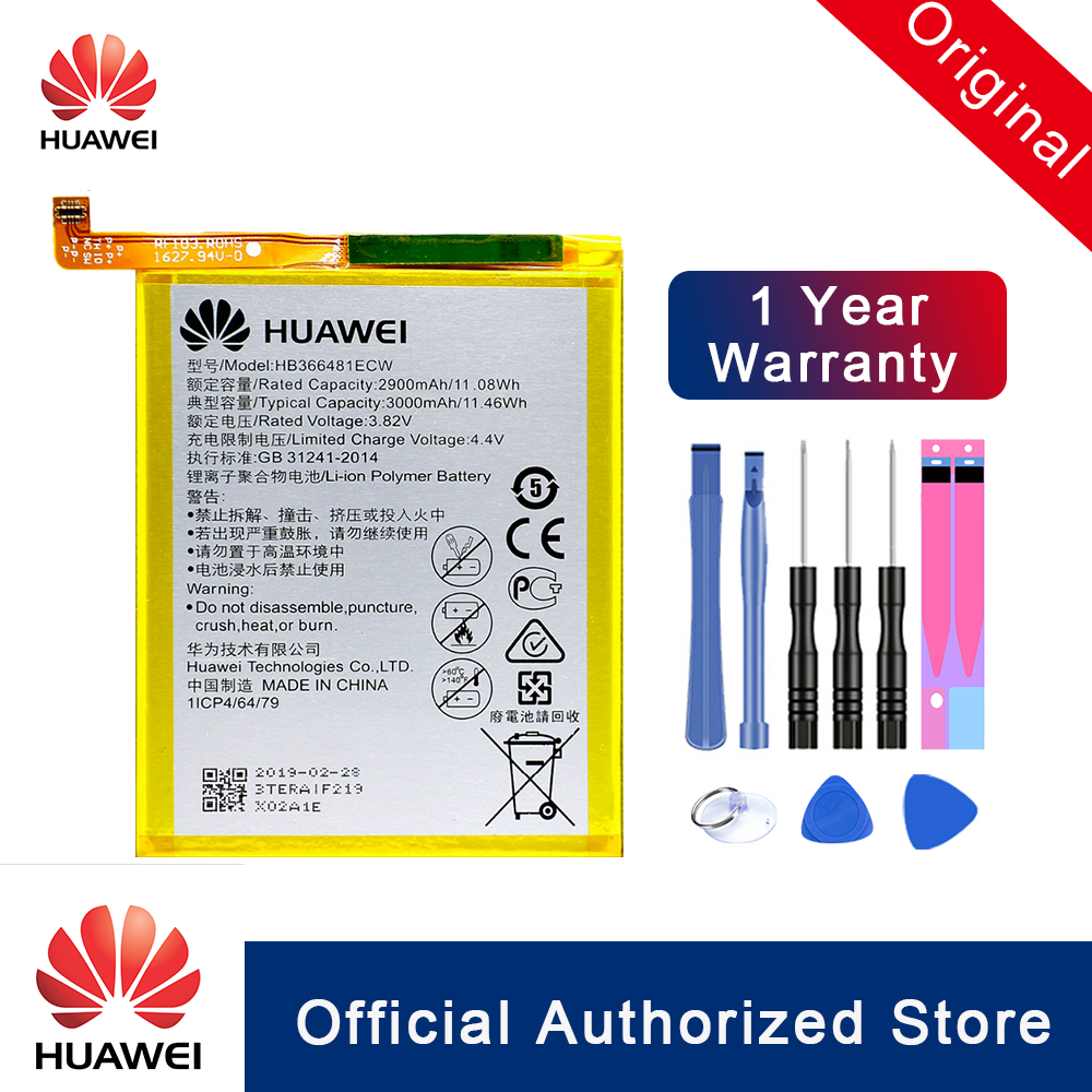 HB366481ECW For Huawei honor 8 / 8 lite 5C Ascend P9 G9 Phone Battery
