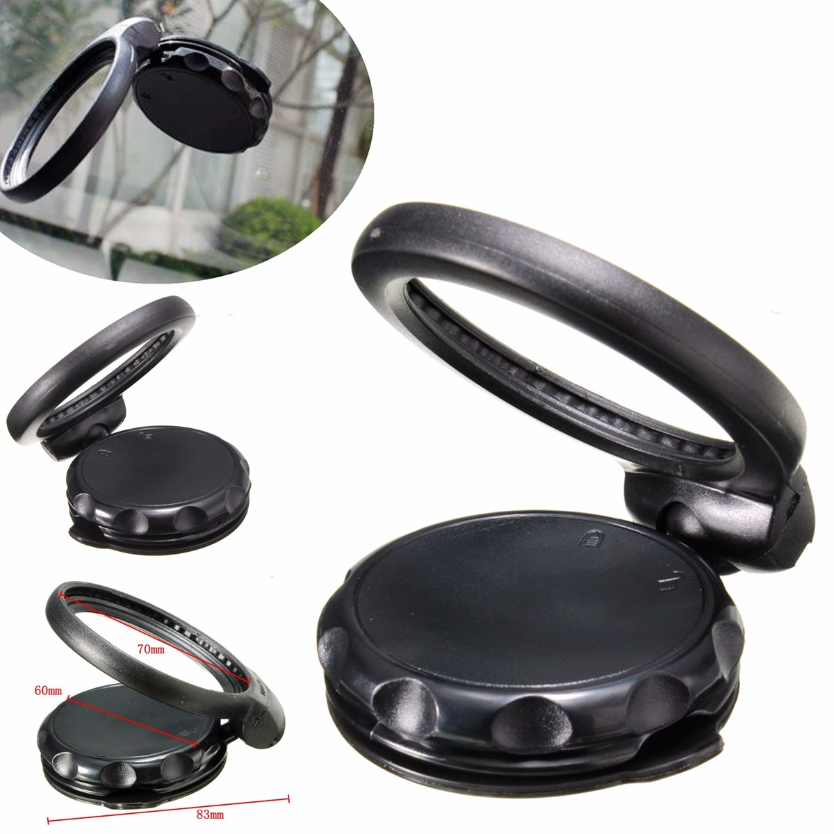 Car EasyPort Windshield Suction Mount Holder for TOMTOM GPS One XL XXL PRO 125
