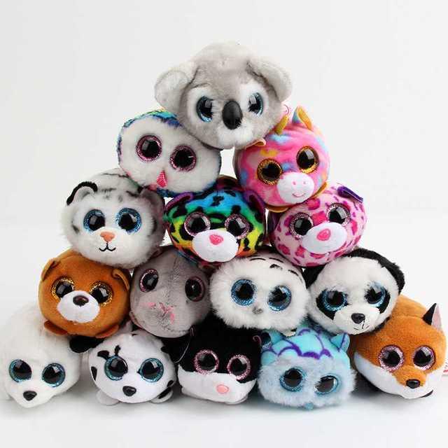 Free Shipping EMS 50 pcs lots Ty Beanie Boos fox pig unicorn Plush Toy Doll f36f042ea0c