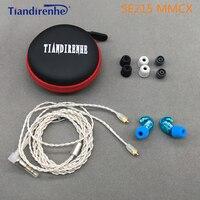2017 DIY SE215 Headset Hifi Stereo In Ear Earphones Noise Cancelling Bass Headphone For Shure Mmcx