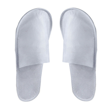 10 Pairs Hotel Travel Spa Disposable Slippers Party Sanitary Home Guest Use Fluffy Closed Toe Men Women Disposable Slippers 1