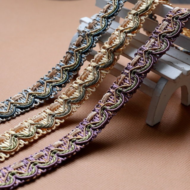 New Arrival 10 Yard/lot 8 Colors Curtain Lace Accessories Tassel ...