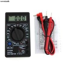Testador de Circuito Proteção contra Sobrecarga Vovotrade Dt830b Lcd Multímetro Digital Voltímetro Amperímetro AC DC Tensão Ohm de